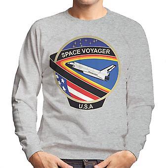 NASA STS 61C Space Shuttle Columbia Mission Patch Men's Sweatshirt