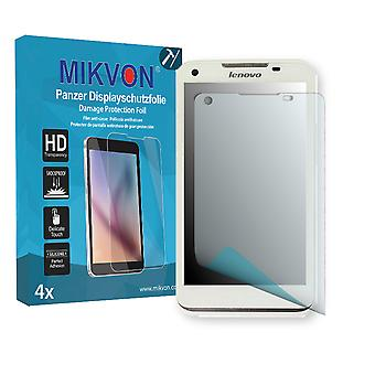 Lenovo IdeaPhone S880 Screen Protector - Mikvon Armor Screen Protector (Retail Package with accessories)