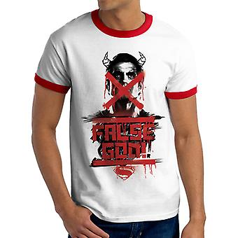 Batman V Superman - T-Shirt fałszywego Boga (Unisex dzwonka)