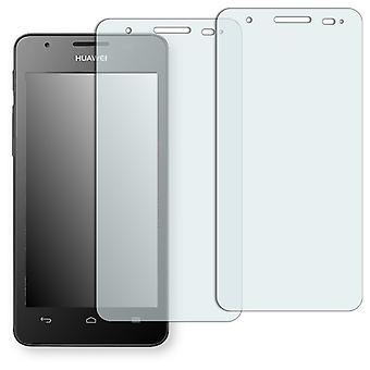 Huawei Ascend G525 dual screen protector - Golebo crystal clear protection film