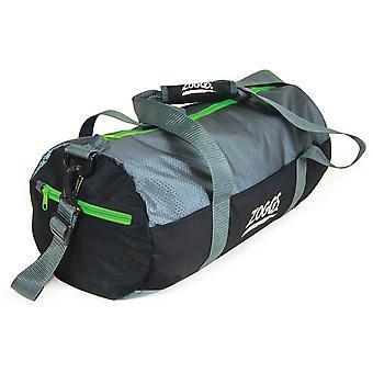 Zoggs Ultimate Duffle Bag impermeabile con Zip esterna tascabile nero - 51x23.5 cm