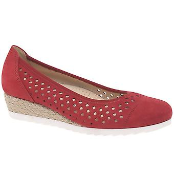 Gabor Evelyn Womens Low Wedge Heel Shoes