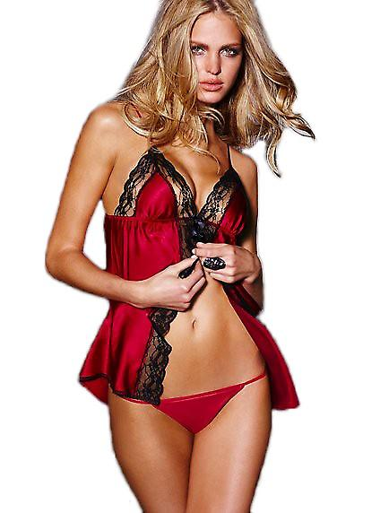 Waooh - Lingerie - lace and satin negligee
