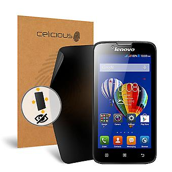 Celicious Privacy Plus 4-Way Anti-Spy Filter Screen Protector Film Compatible with Lenovo A328