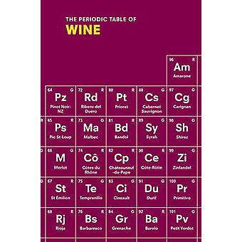 The Periodic Table of Wine by Sarah Rowlands - 9781785031670 Book