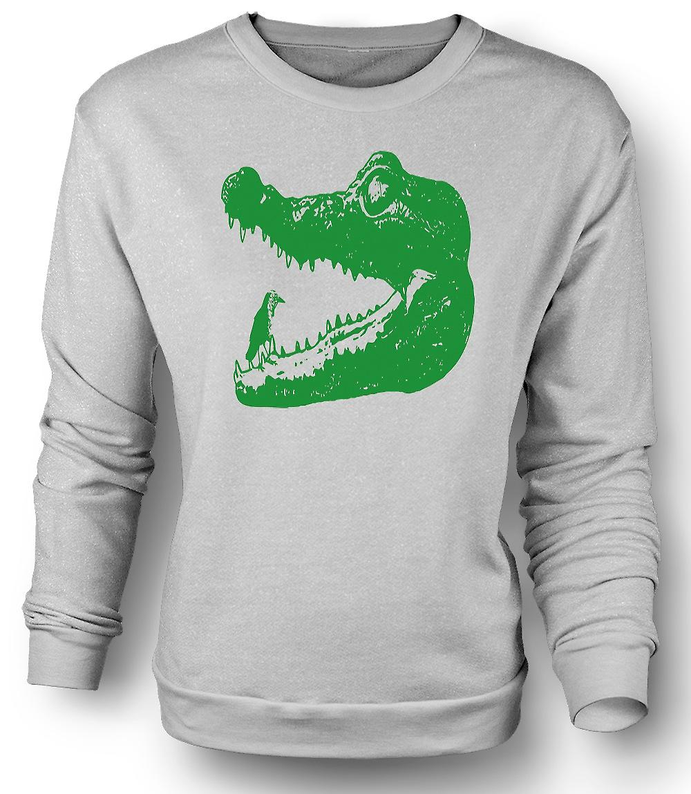 Felpa Mens Cool Aligator coccodrillo - Cool Graphic Design