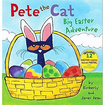 Pete the Cat: Big Easter Adventure (Pete the Cat (Hardcover))