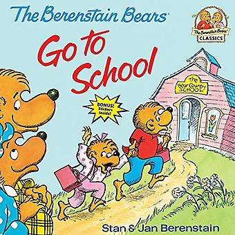 De Berenstain Bears Go to School (Berenstain beren (Random House Ingenaaid))
