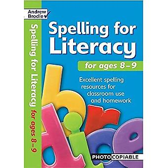Spelling for Literacy for Ages 8-9 (Spelling for Literacy)