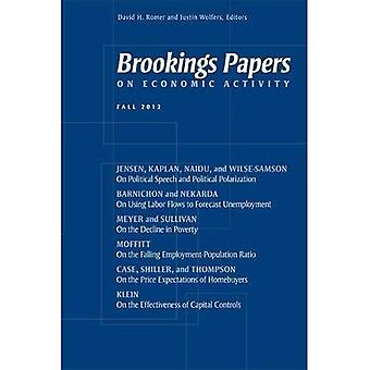 Brookings Papers on Economic Activity, Fall 2012