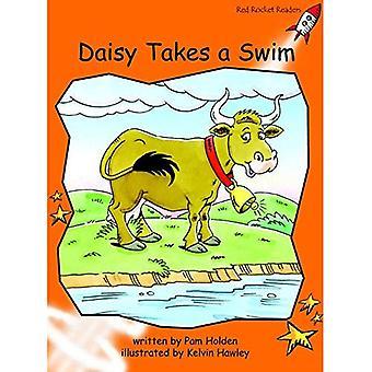 Daisy prend un bain: niveau 1: maîtrise (Red Rocket lecteurs: Fiction ensemble B).