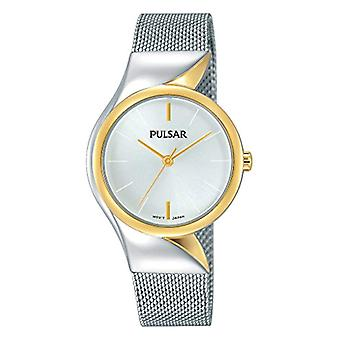 Pulsar ladies analogue watch with metal plated stainless steel PH8230X1