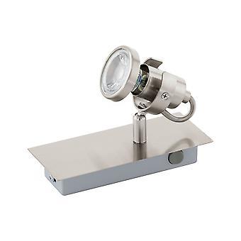 Eglo - Tukon 3 LED Spot níquel acetinado parede luz EG94144
