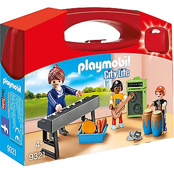 Playmobil 9321 Music Class Carry Case