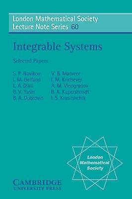 Integrable Systems by Novikov & I. S. et al