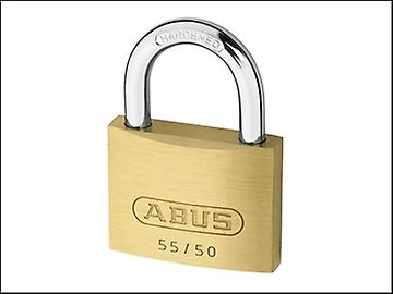 ABUS 55/50 50mm Brass Padlock Keyed 5502