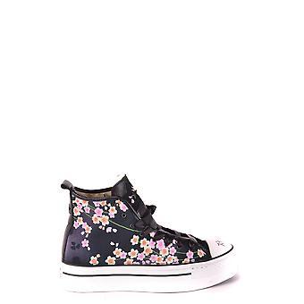 Converse Black Fabric Hi Top Sneakers