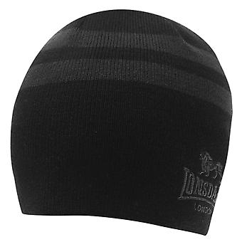 Lonsdale Mens 2 Stripe Hat bonnets
