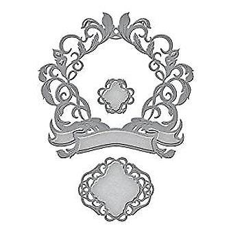 Spellbinders Royale Flush Rouge Royal Designer Die (S5-278)