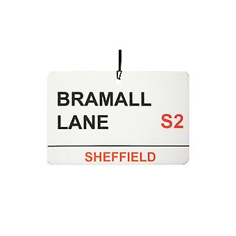 Sheffield United / Bramall Lane Street Sign auto luchtverfrisser