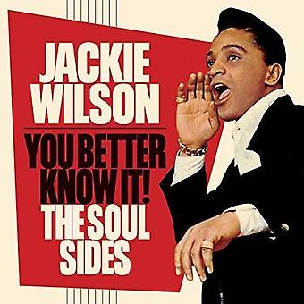 Jackie Wilson - Sie besser wissen es: The Soul Sides [CD] USA import