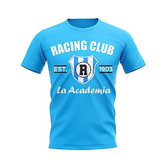 Racing Club Established Football T-Shirt (Sky)