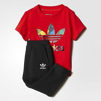 Adidas Originals Infant YWF Crew Full Tracksuit AY8561