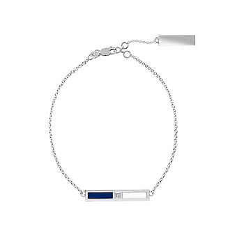 Toronto Maple Leafs - Diamond Bar Bracelet In Blue And White