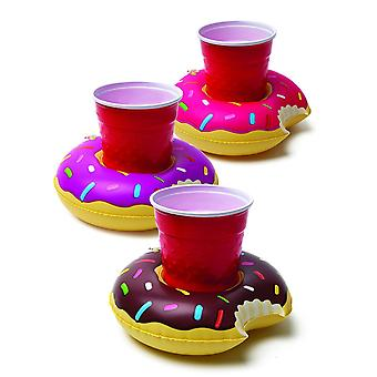 Big Mouth Inc Inflatable Beverage Boats Donuts
