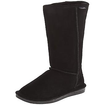 Bearpaw Womens Emma Tall Fabric Open Toe Knee High Fashion Boots