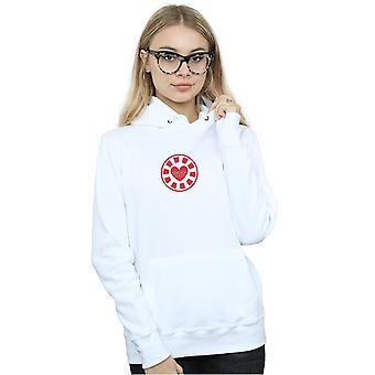 Marvel Women's Avengers Endgame I Love You 3000 Tony Stark Heart Hoodie