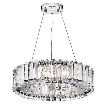 Lampadario cristallo Skye otto - Elstead illuminazione Kl / KL/CRSTSKYE8