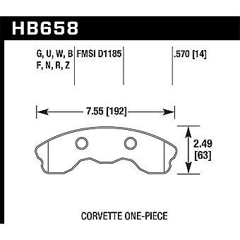 Hawk Performance HB658U.570 DTC-70