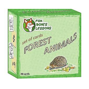 Smarten Forest Animals - Set of Cards
