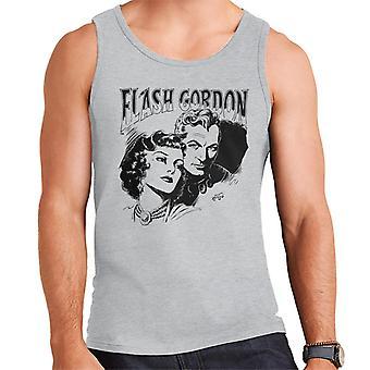 Flash Gordon Paar Portrait Männer's Weste