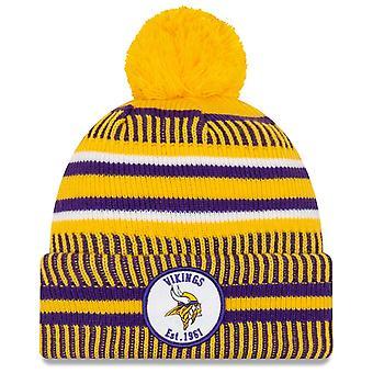 New Era Sideline Home 2019 Bommel Hat Minnesota Vikings
