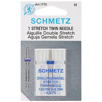 Twin Stretch Machine Needle Size 4.0 75 1 Pkg 1775