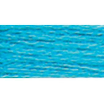 Dmc Six Strand Embroidery Cotton 100 Gram Cone Turquoise Medium Bright 5214 3845
