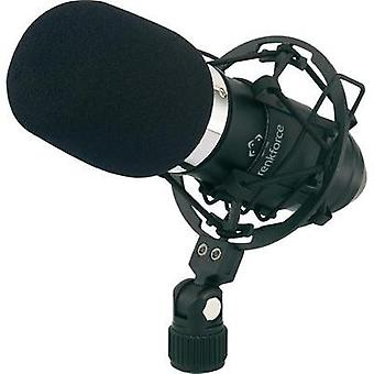 Studio microphone Renkforce AT-100 Transfer type:Corded incl. pop filter, incl. shock mount