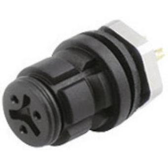 Binder 99-9208-00-03 Series 620 Sub Miniature Circular Connector Nominal current: 3 A Number of pins: 3