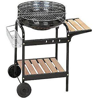 Algon O Luxe Eden Barbecue. 50 Cm. Height 76 Cm. With Wheels.
