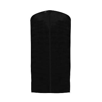 Pack of 3 Black Breathable Suit Cover Polypropylene - Zipped - 99x60cm