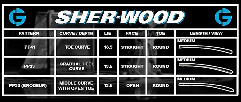 SHER-WOOD GS350 goal stick-> links 26