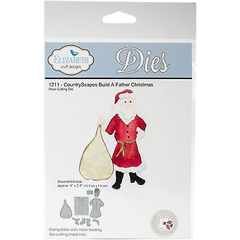 Elizabeth Craft Metal Die-Build A Father Christmas EC1211