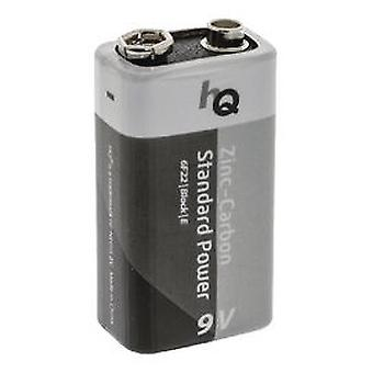 HQ BLISTER 1 Battery 9V Zinc Carbon