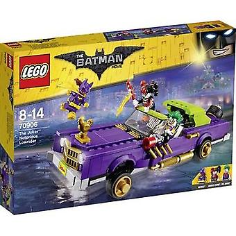 The LEGO® BATMAN MOVIE 70906 The Joker's Notorious Lowrider