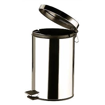 12L Stainless Steel Pedal Bin