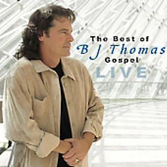 BJ Thomas - importar de USA mejor de Bj Thomas-evangelio en vivo [CD]