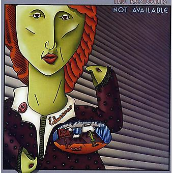 Residents - Not Available [CD] USA import