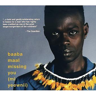 Baaba Maal - MI Yeewnii-mangler du [CD] USA import